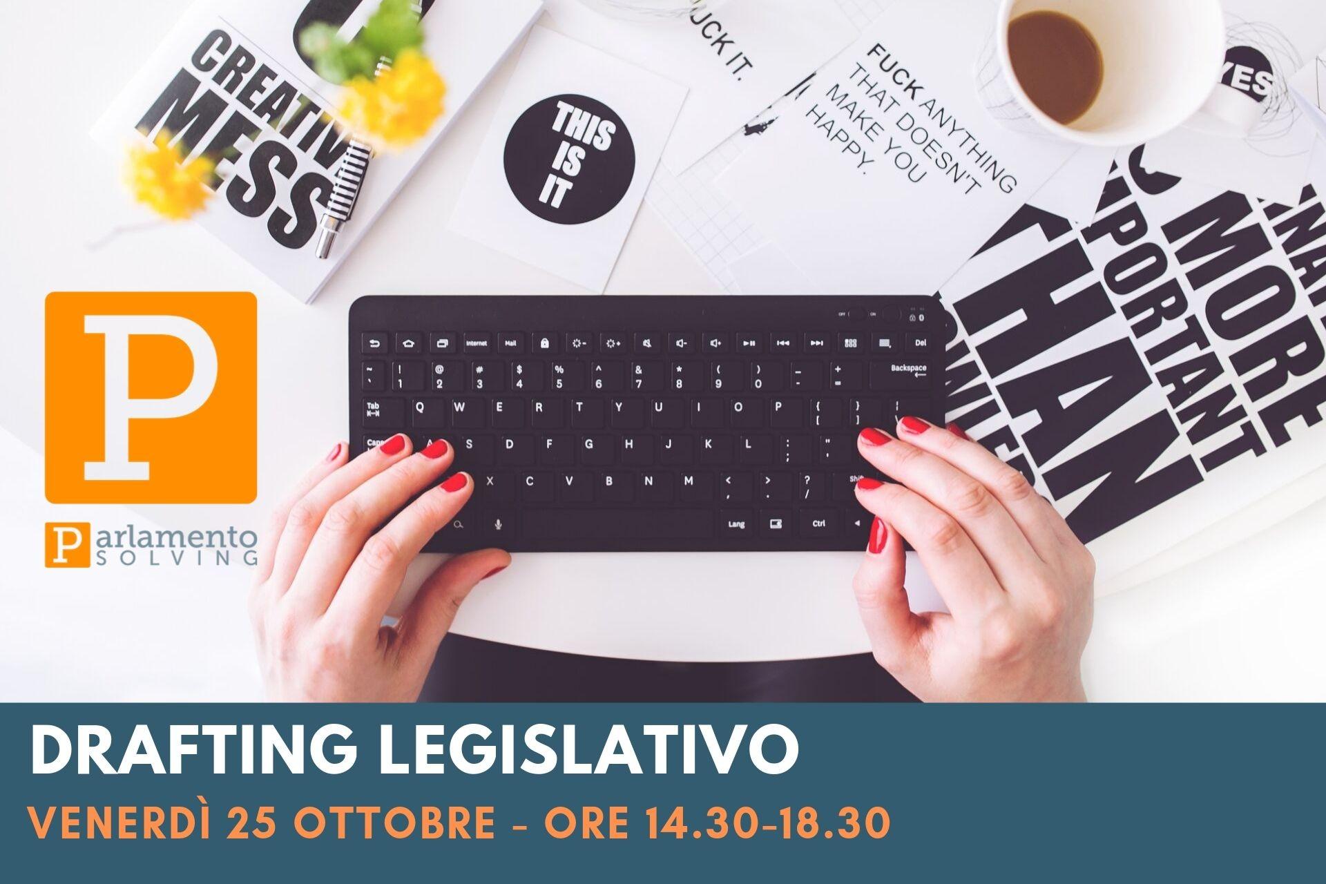 drafting legislativo e sessione su bilancio
