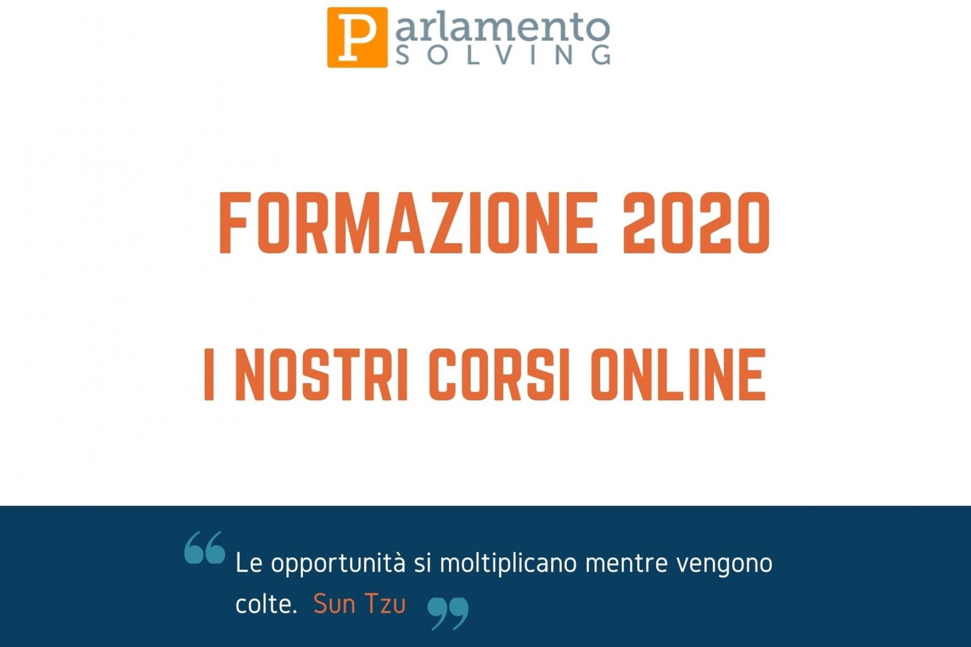 Corsi di formazione online 2020